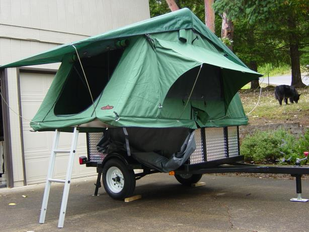 Compact, lightweight tent trailers - Subaru Outback ...