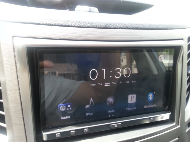 2010 Subaru Outback Premium 2 5 Stereo Upgrade Appradio 3