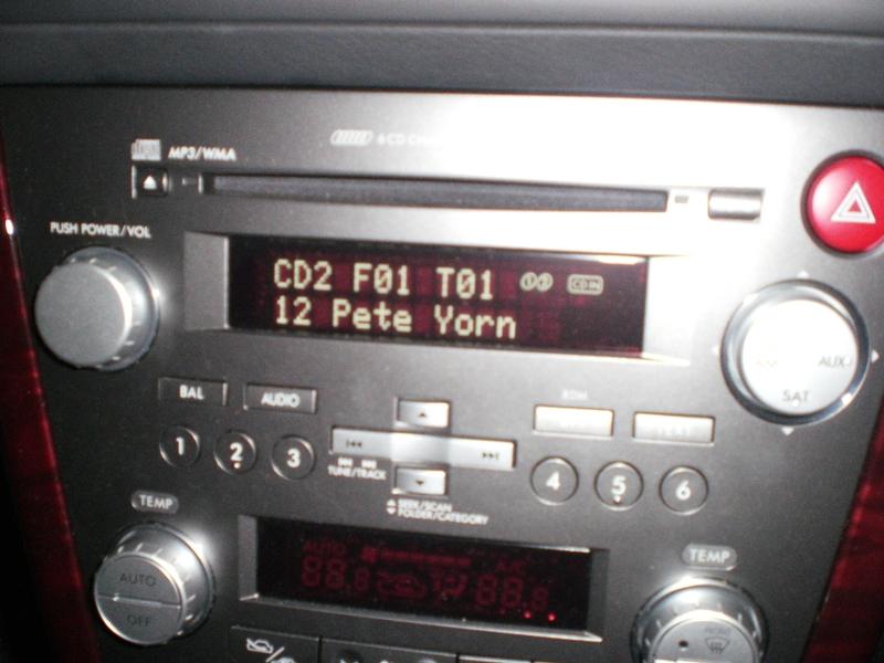 Best Way To Rip Mp3's For Stereo Subaru Outback Rhsubaruoutbackorg: 2007 Subaru Legacy Audio At Gmaili.net