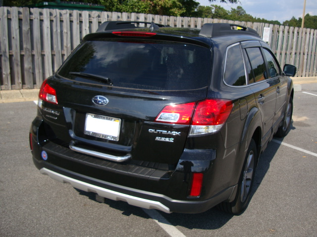 2013 subaru outback hitch