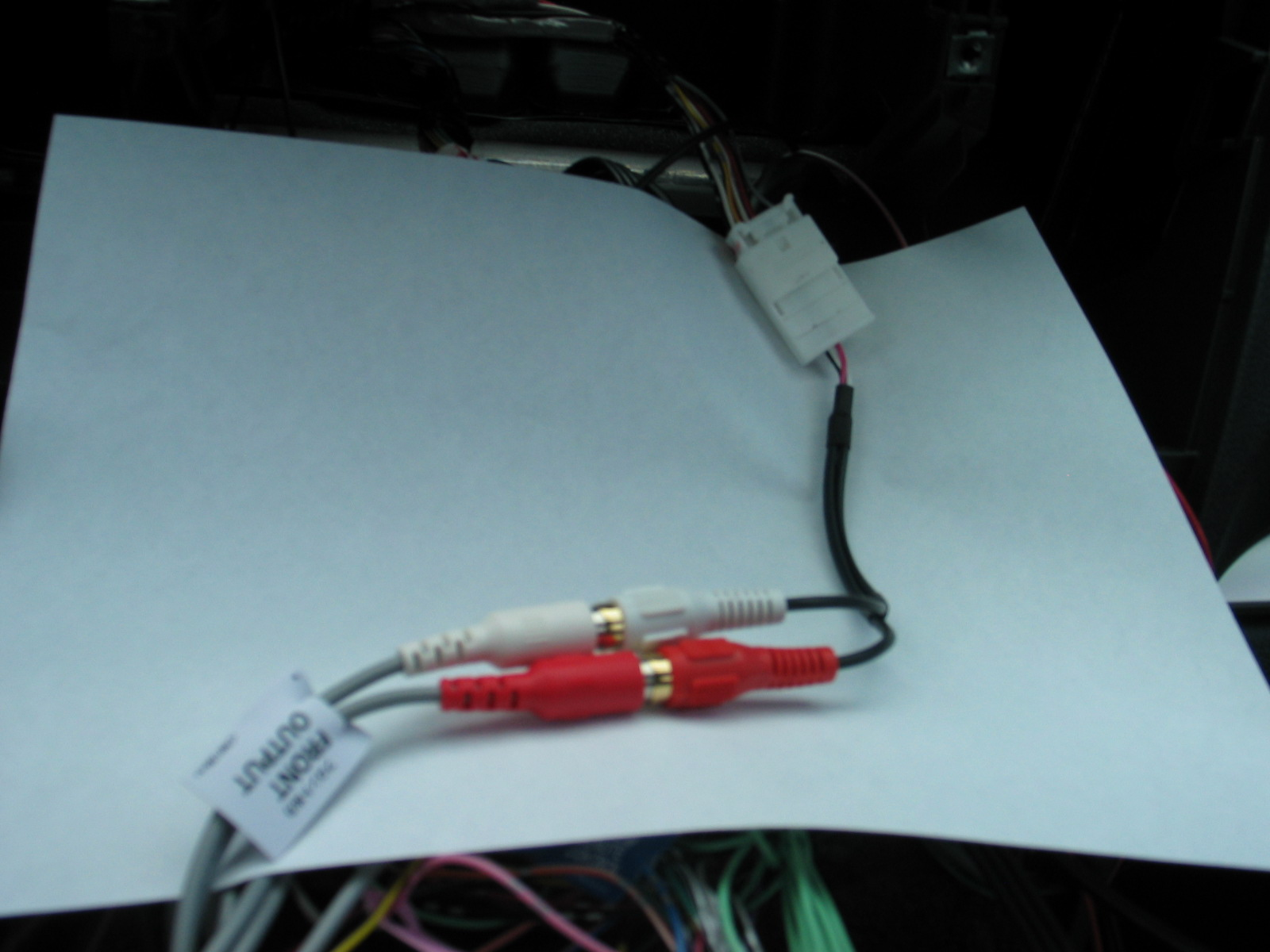 Pioneer Backup Camera Wiring Model X9310bt Electrical Diagrams Avic Radio Diagram Installing A Hu Nd Bc6 Rearview Cam In Base