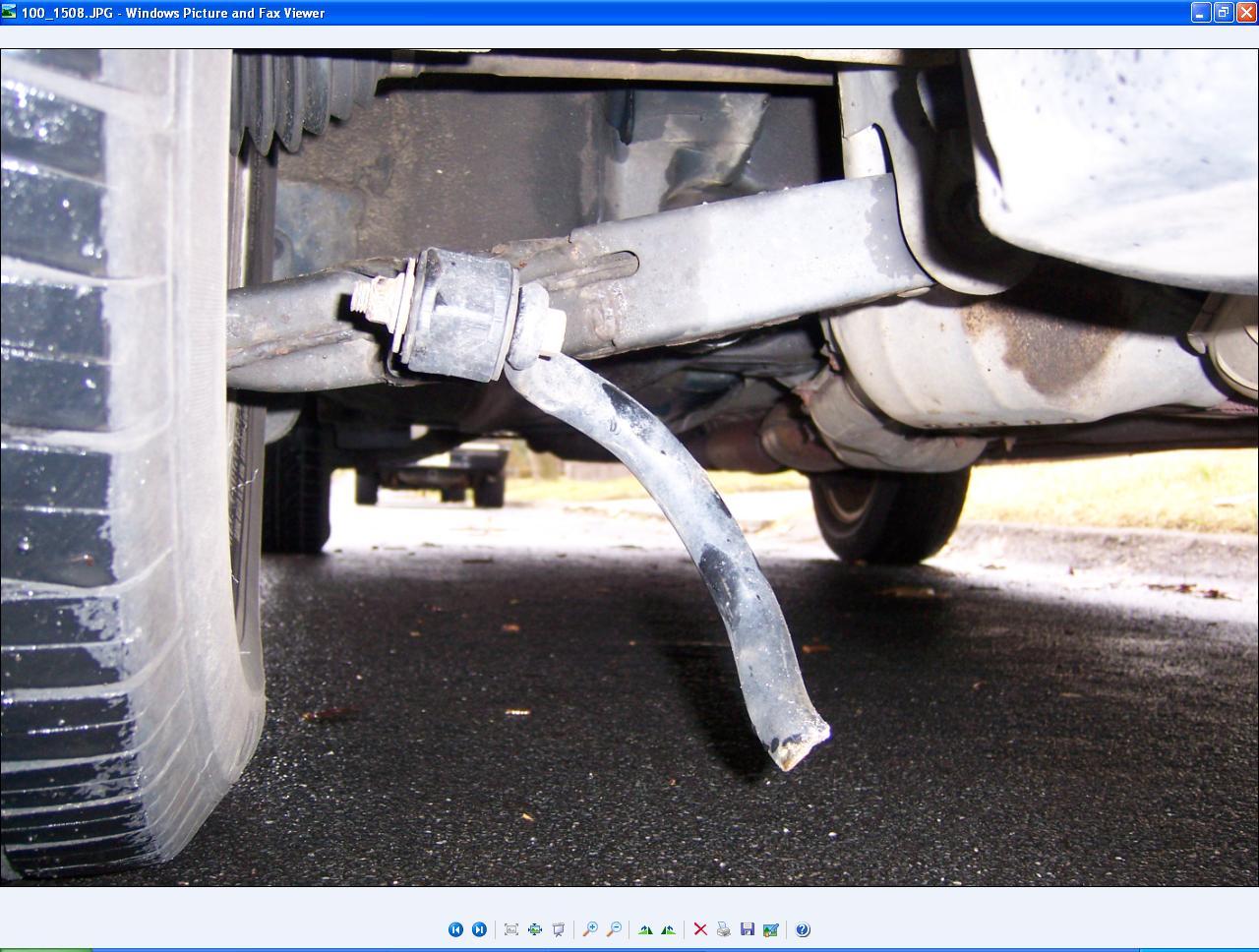 D What Part Broken Suspension Subaru Broke
