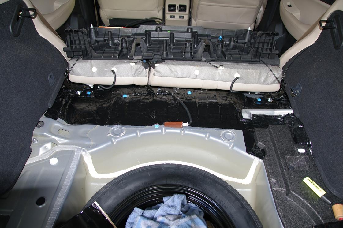 2017 Outback Cargo Area Sound Proofing Subaru Outback