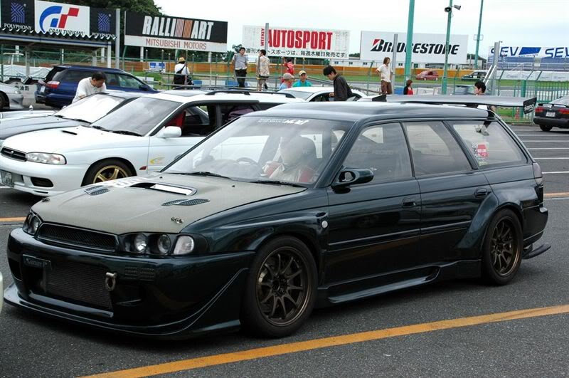 Click Image For Larger Version Name Subaru Legacy Wide Body Kit 2 Views