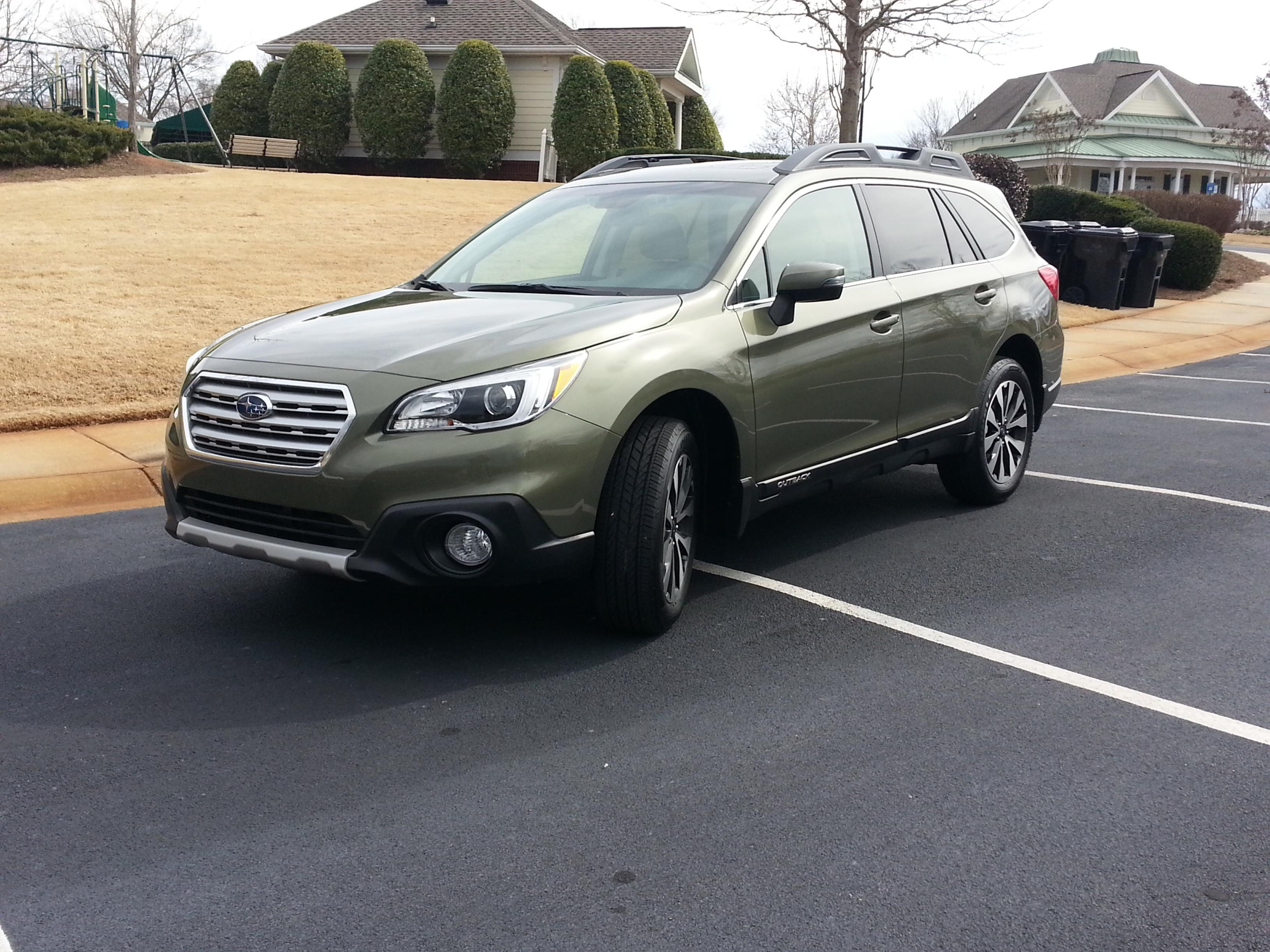 New 25 limited wilderness green ob subaru outback subaru click image for larger version name subaru1g views 3440 size 9146 vanachro Gallery