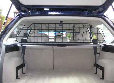 Subaru outback dog guard compartment separator
