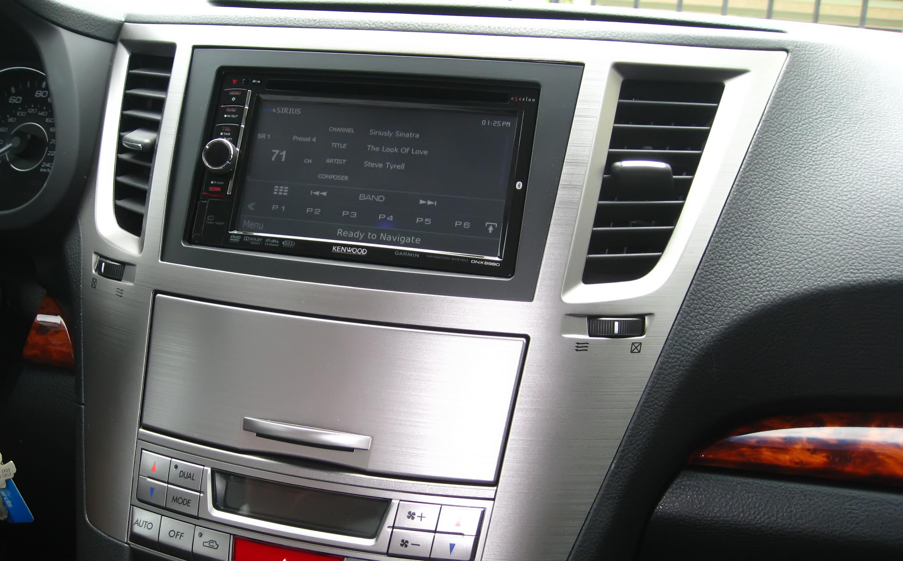 Pics Of Double Din Nav Tilted In Dash And Or Non Recesses