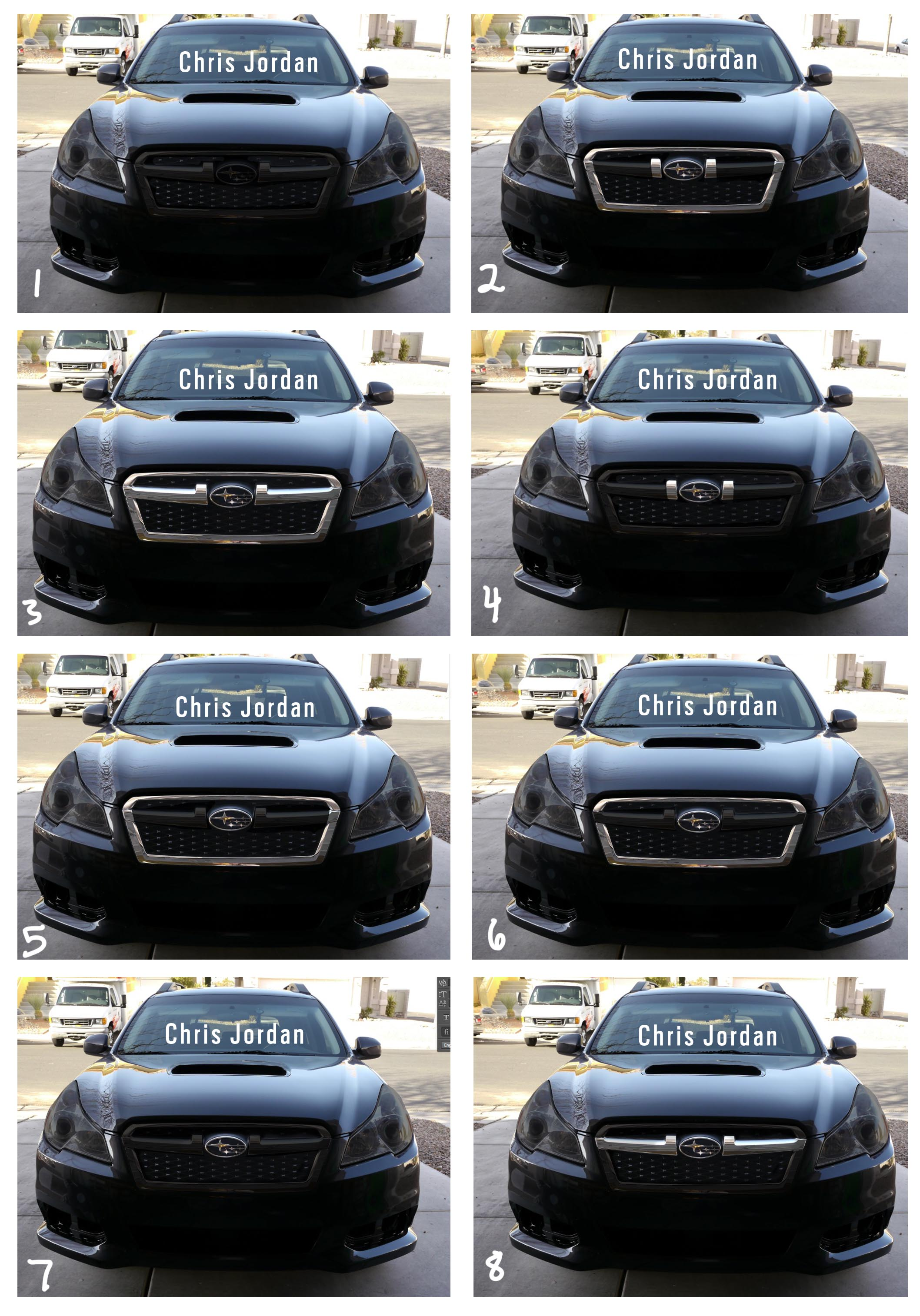 2013 Legacy front Clip on Outback Thread. - Subaru Outback ...