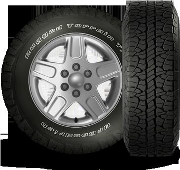 BFG Rugged Terrain T/Au0027s Tire Rugged Terrain T Hero