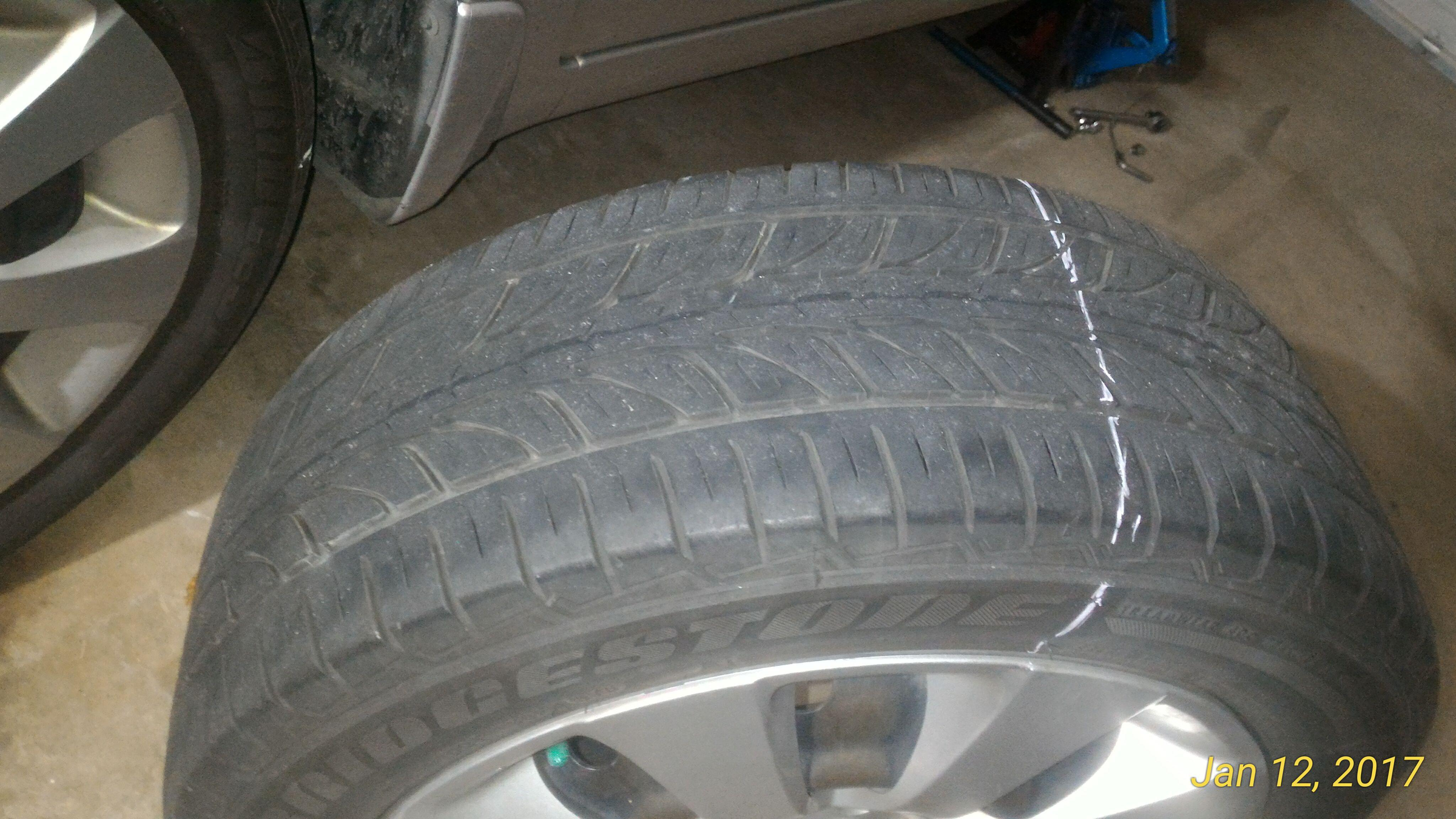 Tire Cupping Wear Indentification Help - Subaru Outback ...