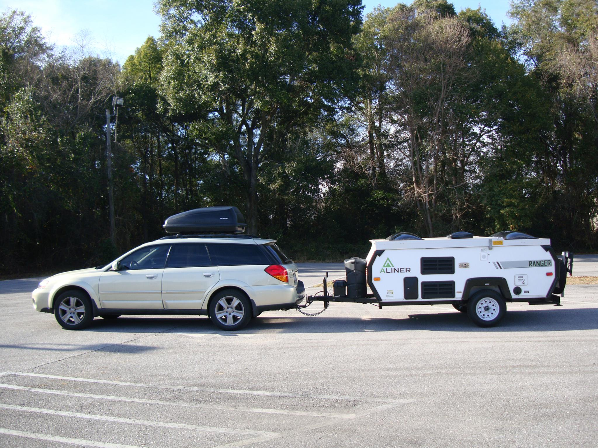 Big campers are not best for Outback's - Subaru Outback ...