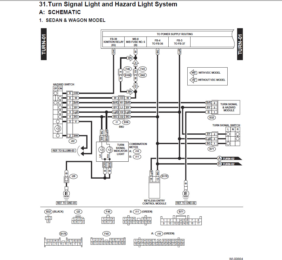 electrical wiring diagrams 2003 subara outback ll bean