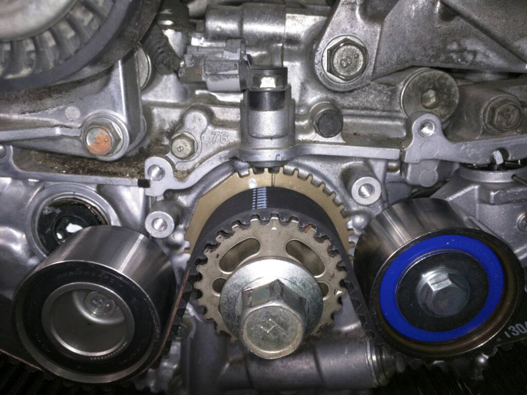 Timing Belt Help Uploadfromtaptalk on 2005 Subaru Sti