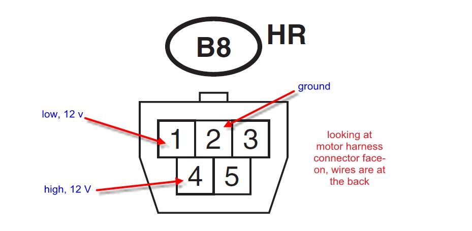 Subaru Front Windshield Wiper Motor Wiring Schematic
