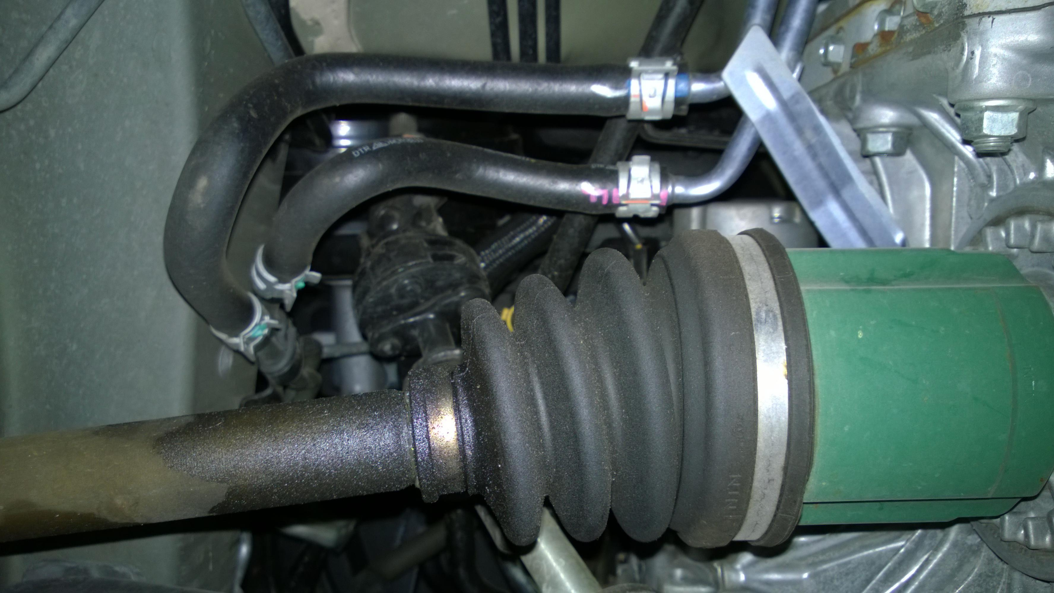 Grease Leaking From Axle Boot Not Torn Page 2 Subaru Outback