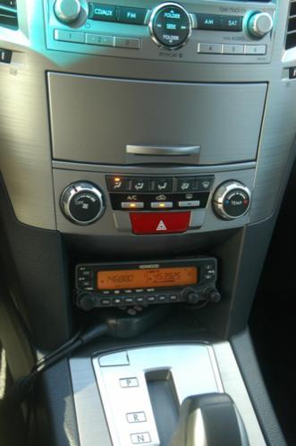 2011 Outback HAM Radio(1) - KENWOOD TM-V71A control head