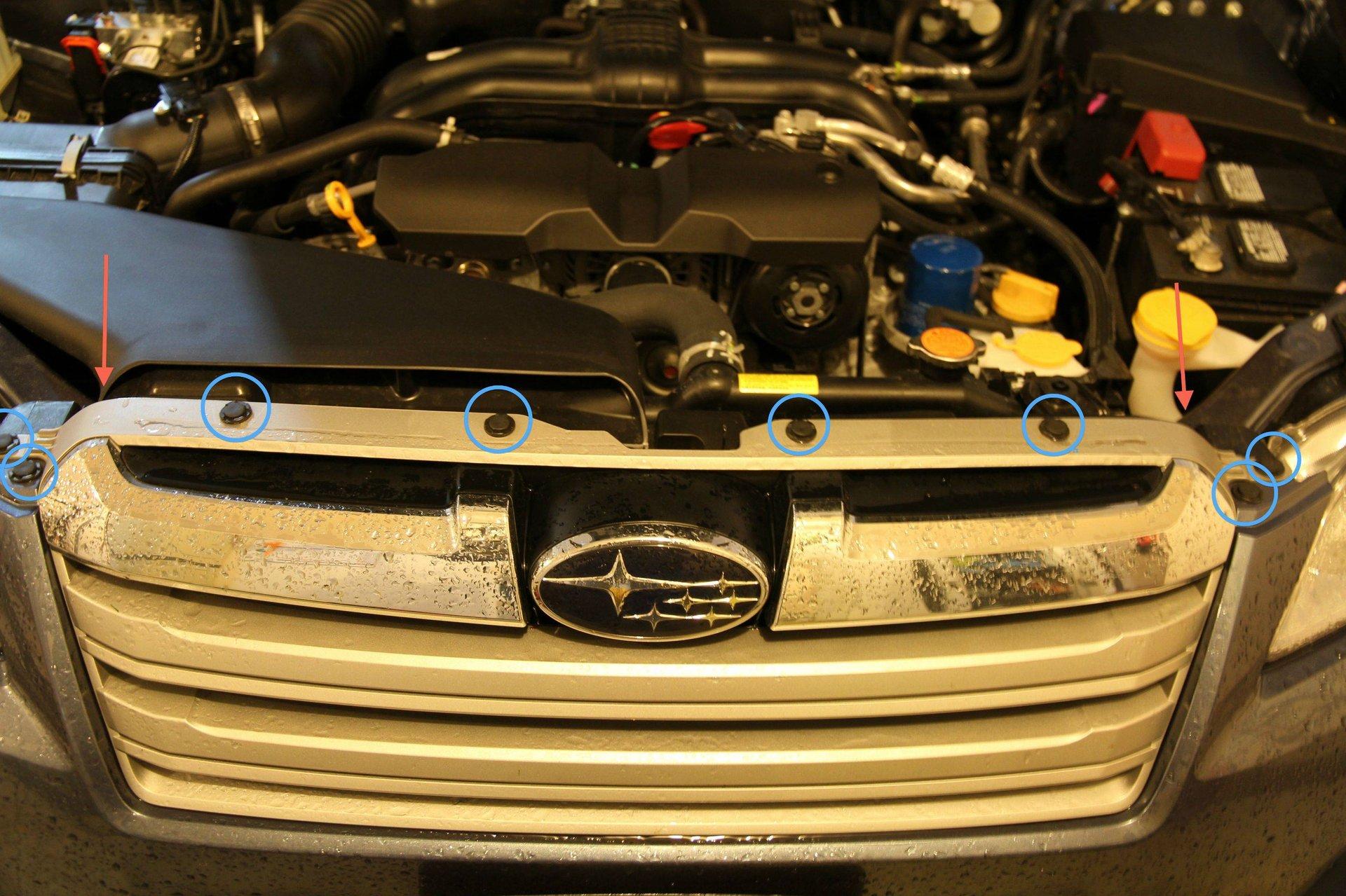 DIY: Gen 4 a Supertone Horns Installation | Subaru ... A Supertones Wiring Diagram on