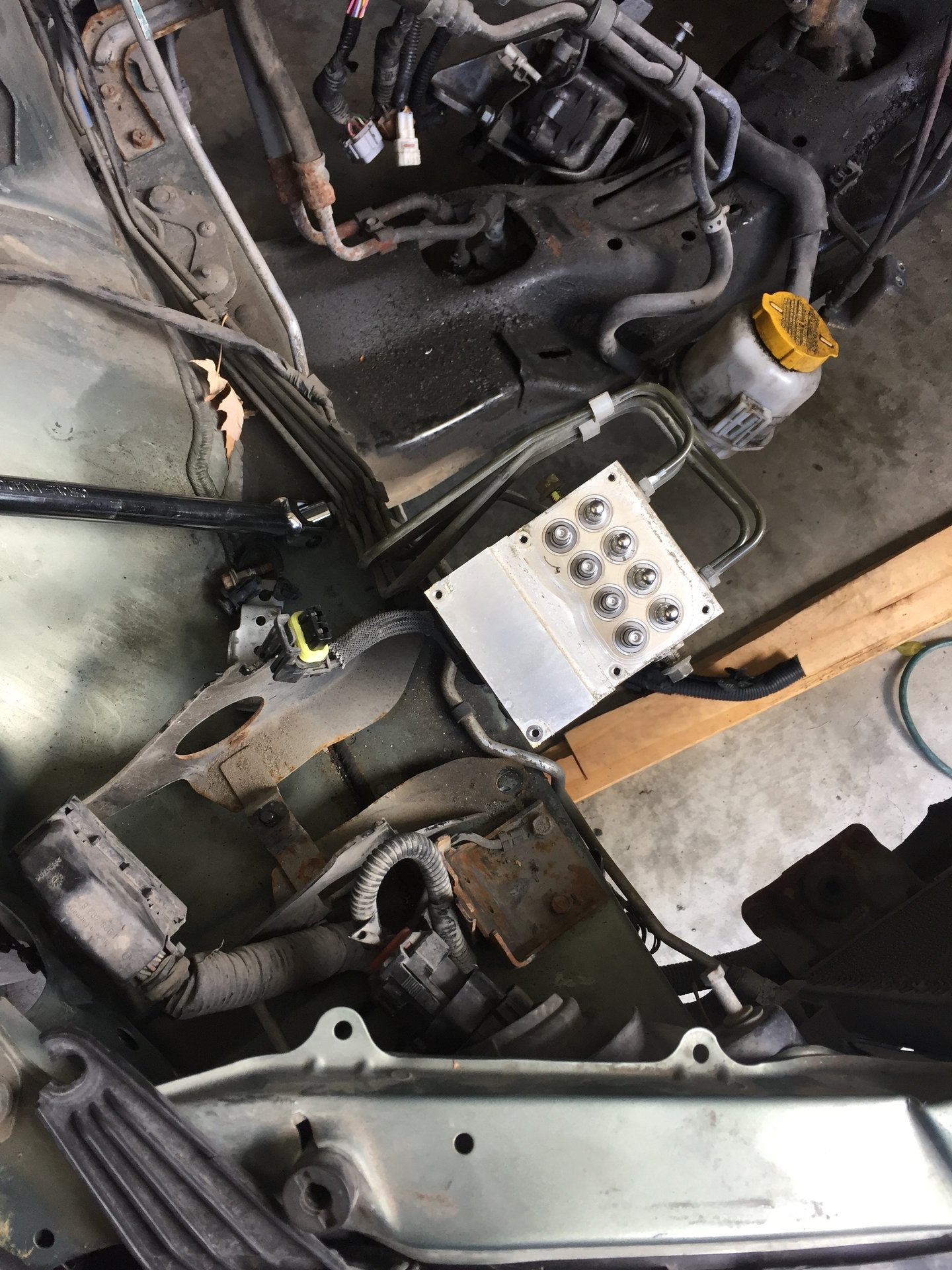 How to: 2001 H6 4eat to 5spd swap | Subaru Outback Forums