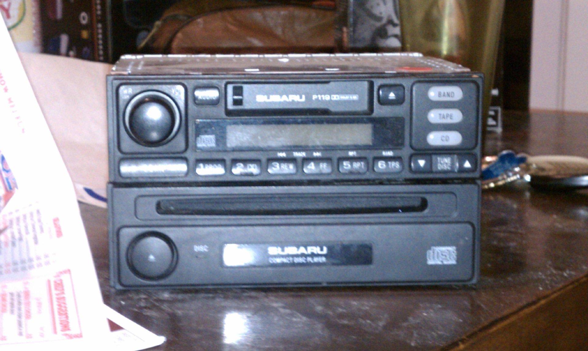 FS: 2000 OEM radio/cassette/DIN | Subaru Outback Forums