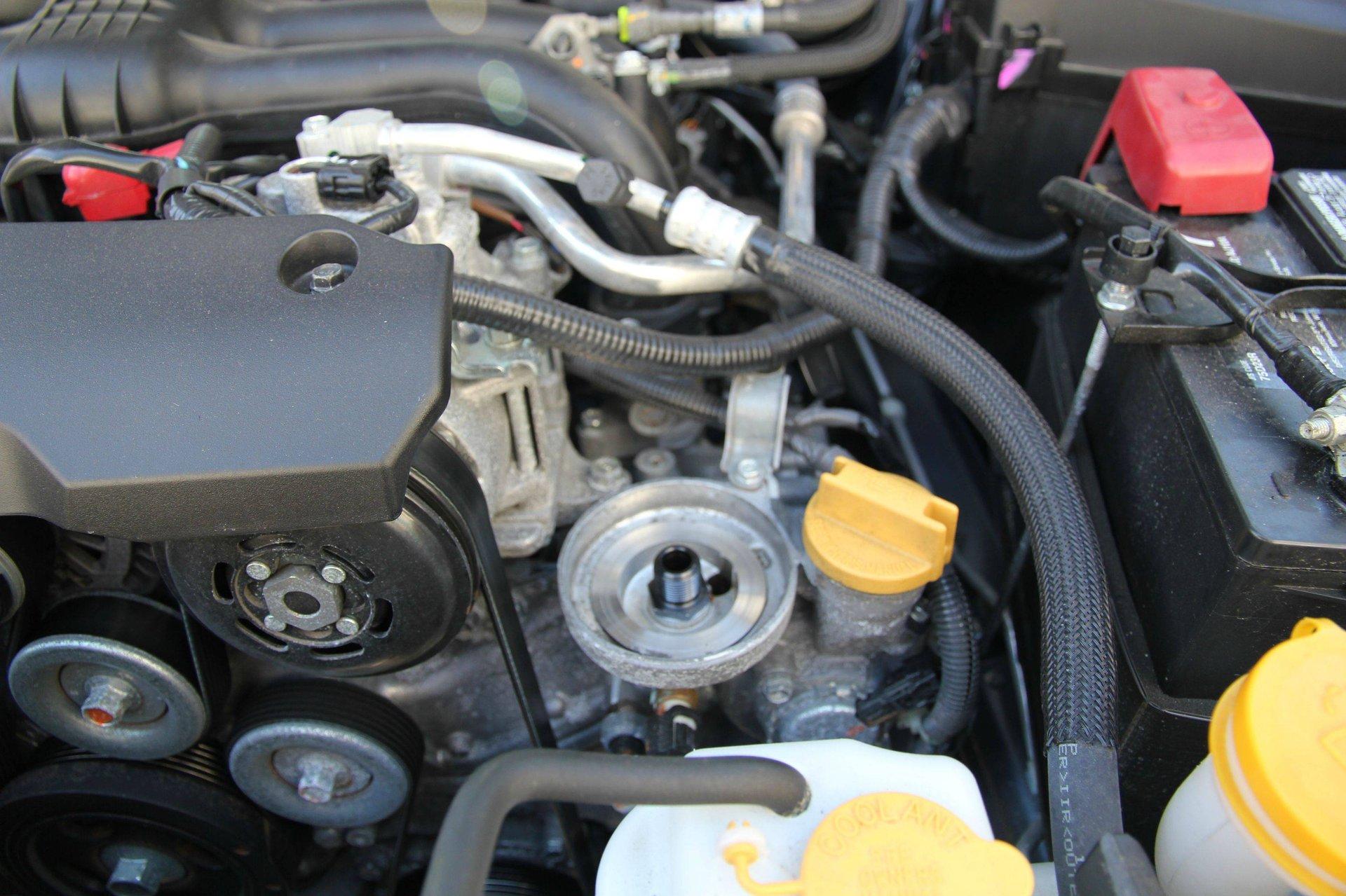 DIY: Gen 4 FB 2 5L Oil & Filter Change | Subaru Outback Forums