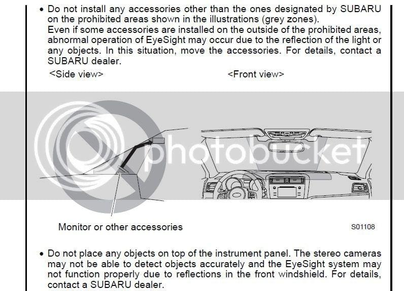 Eyesight – Dashcam? | Subaru Outback Forums