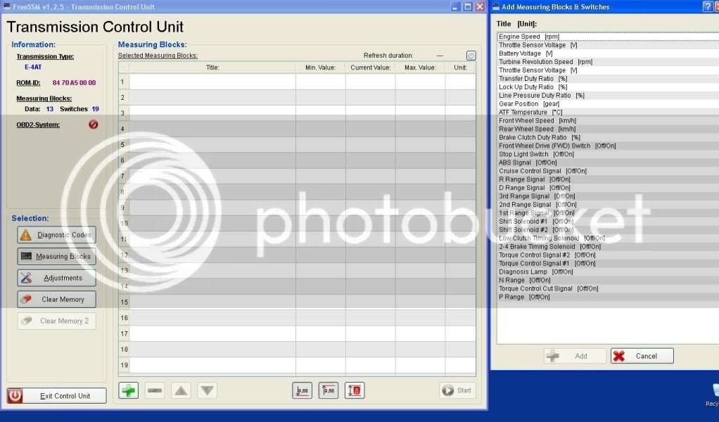 FreeSSM - Complete access to your ECM and TCU | Subaru
