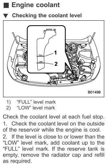 Coolant Level? | Subaru Outback Forums