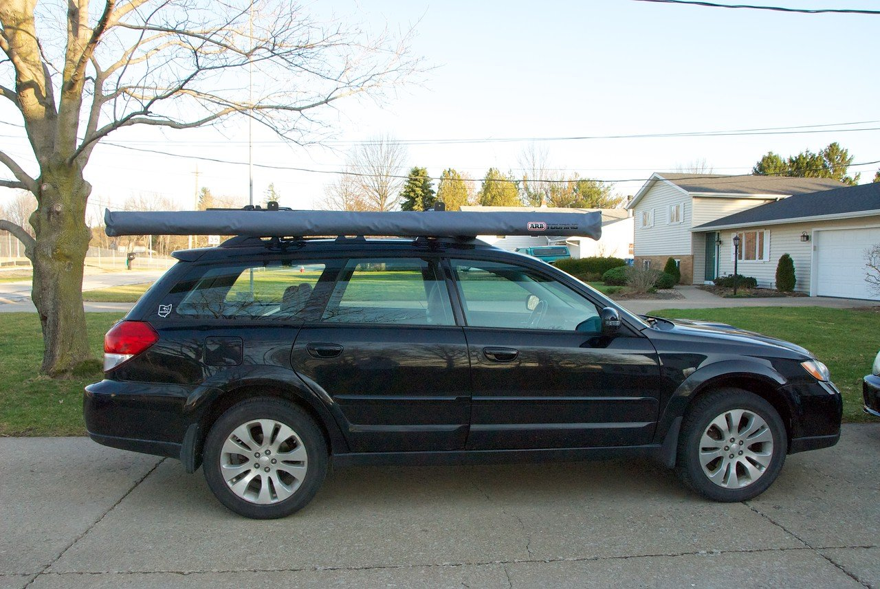 ARB Touring 2500 Awning on my '08 Outback | Subaru Outback ...