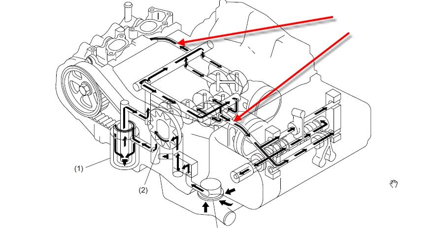 Oil Leak 07 Outback Wagon 2 5