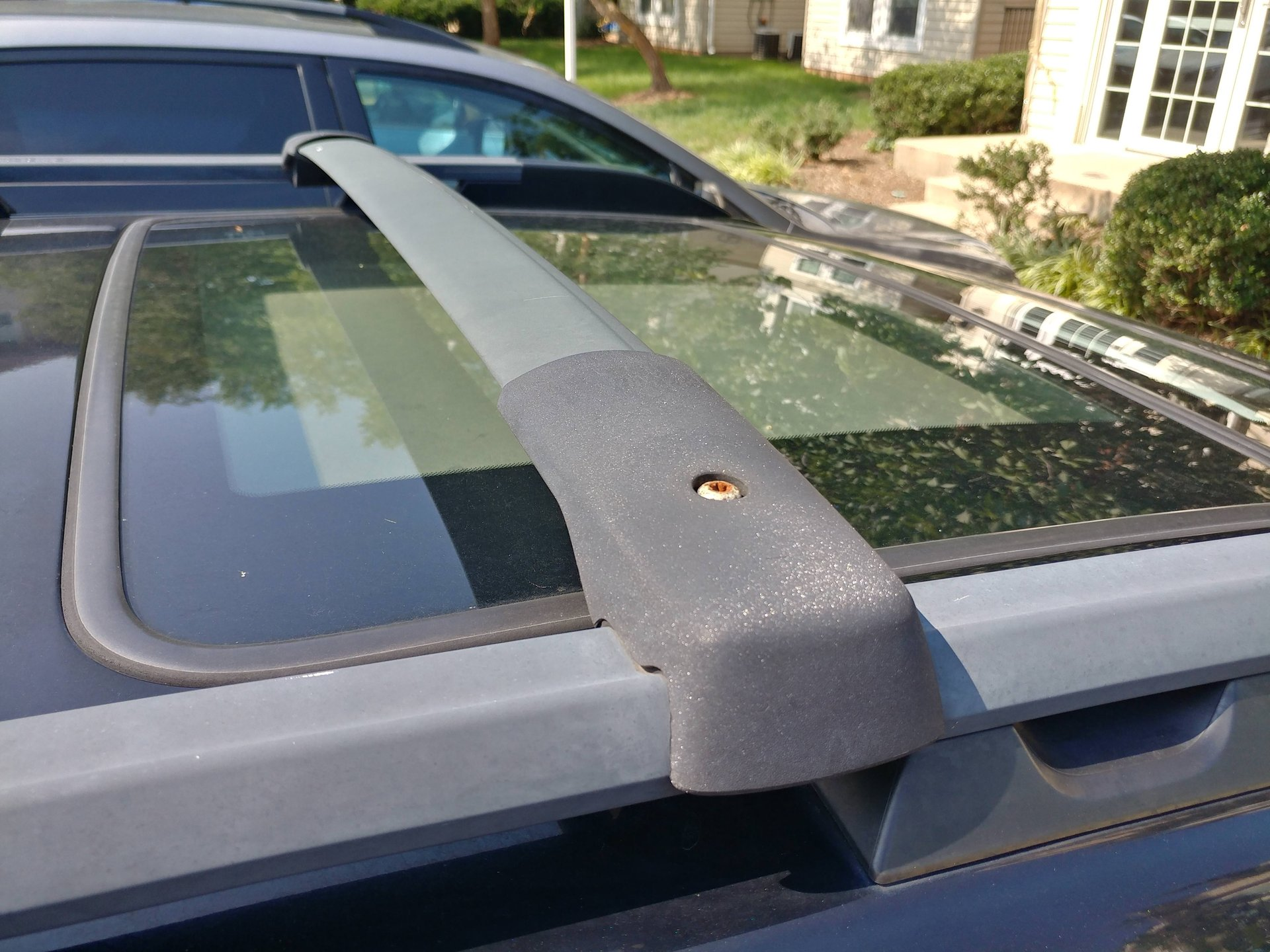 Faded, Oxidized, Bleached Out Aluminium Roof Rack Renewal | Subaru