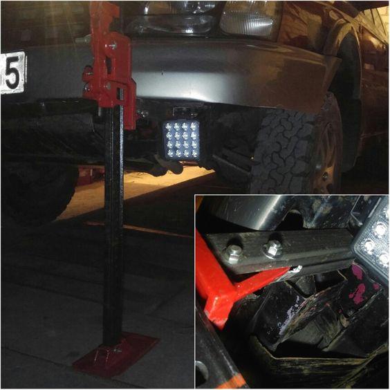 DIY : Hi-Lift Jack to lift subaru   Subaru Outback Forums