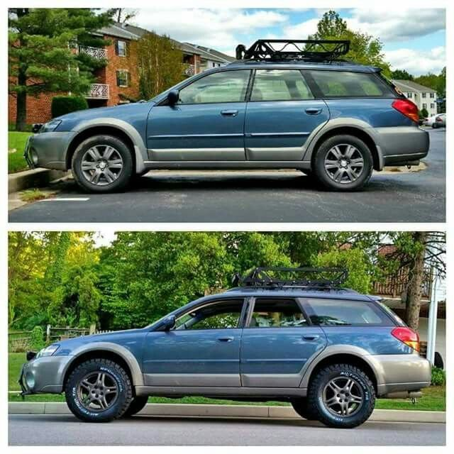 4 INCH ADF lift kit on a 05 Outback | Subaru Outback Forums