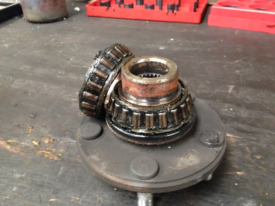 2000-2004 Front Wheel Bearing Replacement | Subaru Outback