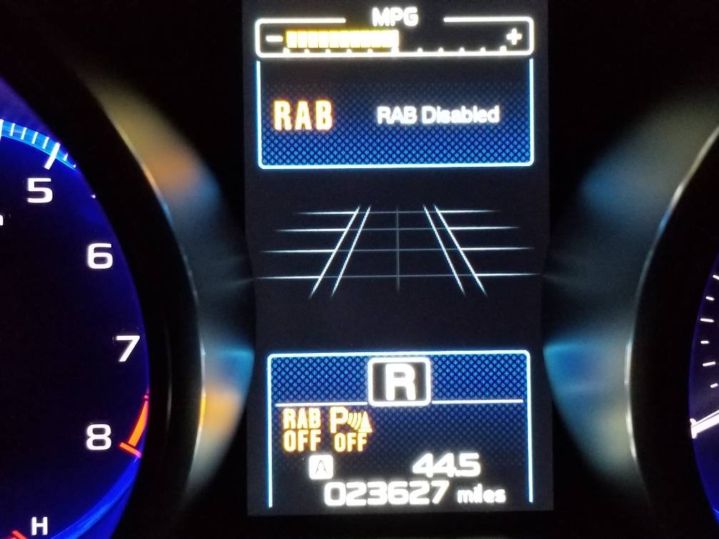 How to disable RAB & Rear beeping | Subaru Outback Forums