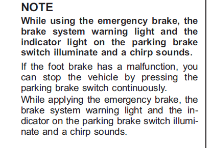 2011 Electronic Parking Brake Problems | Subaru Outback Forums