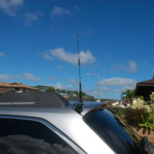 2011 Outback HAM Radio(5) - KENWOOD TM-V71A Radio mounted in