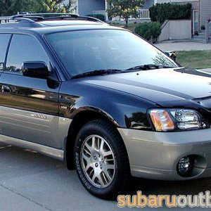 "02"" Outback VCD Wagon"