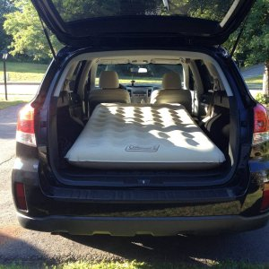 Coleman Packable SUV Quickbed air mattress
