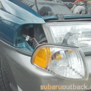 signal light removal