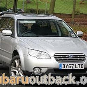 new 08 diesel outback