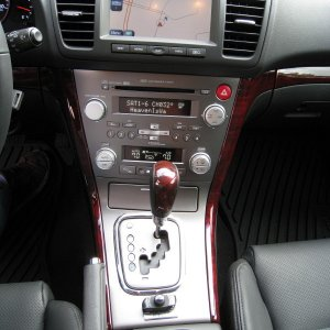 Interior Shot - parrot BT / XM sat radio