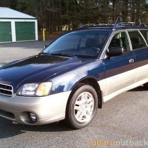 01 outback - sold