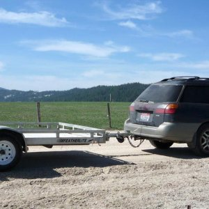 6x10 Featherlite Utility Trailer