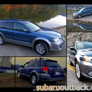 2009 Outback collage