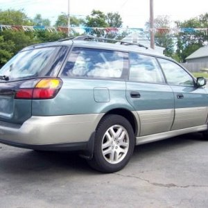 2001 outback limited