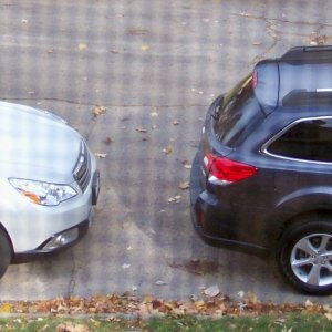 Our 2011 Subaru Outback and 2013 Outback